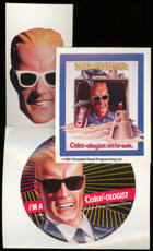 #CC278- Group of 3 Different Max Headroom Stickers