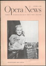 #MUSIC004 - 1940s Opera News Magazine
