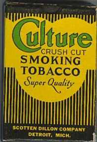 #TO011 - Culture Tobacco Box