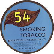 #ZLT023 - 54 Smoking Tobacco Label
