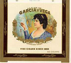 #ZLSC003 - Garcia y Vega Cigar Box Label