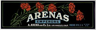 #ZLSG010 - Arenas Grape Crate Label