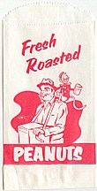 #PC019 - Fresh Roasted Peanuts Bag with Monkey