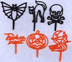 #HH127 - Bag of 72 1960s Halloween Picks