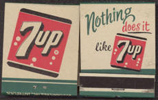 #TM079 - 7up Front Cover Striker Match Pack - Nothing Does it Like 7UP