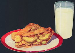 #SIGN174 - Apple Pie and a Glass of Milk Sign - As low as 50¢ each
