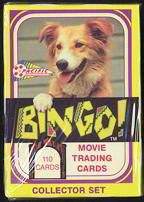 #ZZA163 - Bingo the Dog Factory Set of Trading Cards