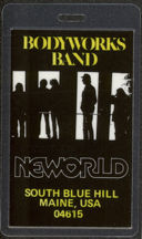 #MUSIC485 - 1980 Bodyworks Band (Paul Stookey of Peter Paul and Mary) Laminated Backstage Pass from The Band and Bodyworks Tour