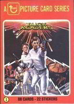#ZZA109 Complete 88 Card Topps Set of 1979 Buck Rogers Picture Cards