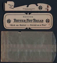 #TY616 - Butter-Nut Bread Advertising Airplane in Glassine Envelope