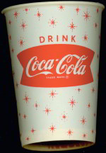 #CC070 - Coke Cup with Snowflakes and Uncommon Fishtail Logo