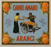 #ZLC240 - Carro Amano Orange Crate Label
