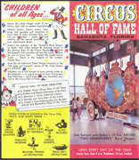 #CIR003 - Early Circus Hall of Fame Brochure