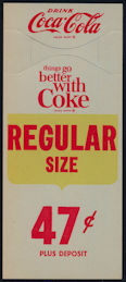 #CC316 - Drink Coca Cola Bottle Hanger - Things Go Better with Coke