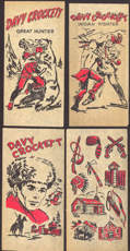 #CH253 - Four Different Davy Crockett Transfer Sheets