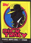 #ZZA052 - 1990 Dick Tracy Movie Card Pack