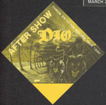 #MUSIC770 - Dio OTTO Cloth Backstage Pass from the 1990 Throw 'em to the Wolves Tour