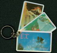 #CH118  - Old E. T. Keychain with Fan Out Pictures