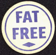 #DC116 - Hard to Find Generic Creamer Bottle Cap that just says Fat Free