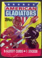 #ZZA079 - Pack of American Gladiators Trading Cards