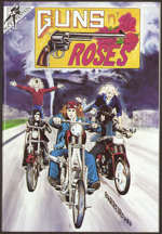 #MUSIC982 - 1990 Guns n' Roses Comic with Real Autograph from the Comic Writer