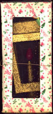 #HH137 - Very Large Early Electric Christmas Lantern in Original Box