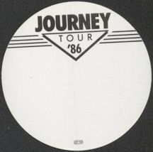 #MUSIC206  - Round 1986  Journey Tour OTTO Backstage Pass