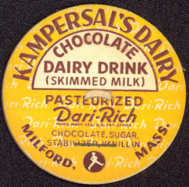 #DC109 - Kampersal's Dairy Chocolate Milk Cap