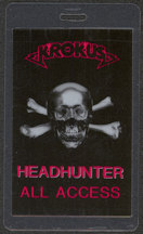 #MUSIC417  - 1983 Krokus Laminated Backstage Pass from the Headhunter World Tour