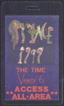 "#MUSIC227  - Laminated Prince 1982 ""1999"" Tour Backstage Pass"