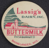 #DC103 - Lassig's Dairy Buttermilk Bottle Cap