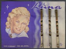 #CS232 - Full Card of Luna Bobby Pins