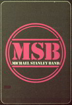 #MUSIC282  - Michael Stanley Band 1983 Tour OTTO Backstage Pass