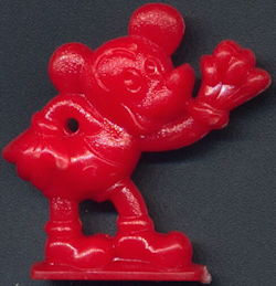 #CH378 - Hard Plastic Mickey Mouse Gumball Prize