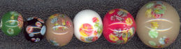 #BEADS0169 - Variety of Japanese Millefiori Flower Beads - Pick Your Color and Size