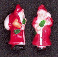 #HH136 - Hand Painted Miniature Old World Santa