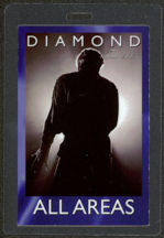 #MUSIC424  - 2005 Neil Diamond Laminated Backstage Pass from the Neil Diamond 2005 Tour