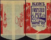 #PC031 - Klein's Frosted Pop Water Ice Bag - Western Theme