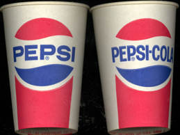 #SOZ067  - Old Waxed Pepsi Cup