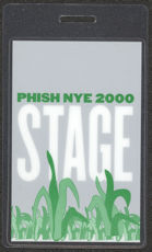#MUSIC393  - 2000 PHISH Laminated Backstage Pass - Famous New Year&#39;s Eve Performance Big Cypress Reservation