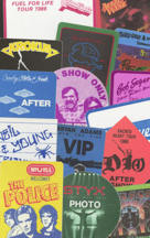 #MUSIC630  - Sample Set of 15 Different 1980s Rock Artist Backstage Passes