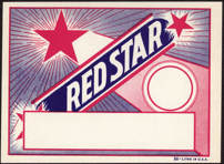 #ZLB038 - Red Star Broom Label
