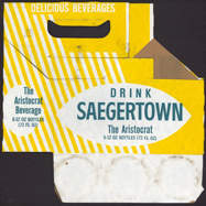 #SOZ076 - Rare Saegertown Beverages Six Pack Carton