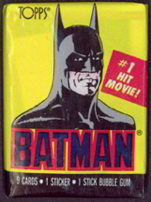 #ZZA043 - 1989 Batman 1 Movie Trading Card Pack