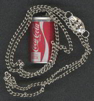 #CC106 - Coca Cola Can Necklace