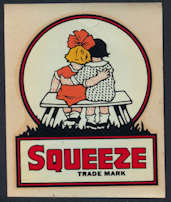 #SOZ102 - Squeeze Soda Decal
