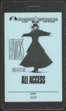 #MUSIC460  - 1986 Stevie Nicks (Fleetwood Mac) Laminated Backstage Pass from the Rock a Little World Tour