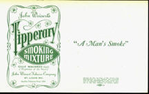 #ZLT032 - Tipperary Smoking Mixture Tobacco Can Label
