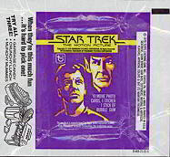 #ZZA031 - 1979 Star Trek Motion Picture Wax Wrapper