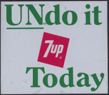 #SOZ057  - 7UP Undo it Door Sticker